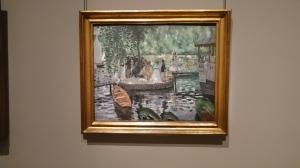 La Grenouillére by Auguste Renoir