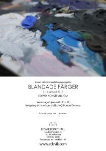 Vernissageinbjudan Blandade Färger