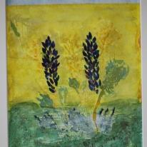 Summer. Watercolour by Jan David Lindgren