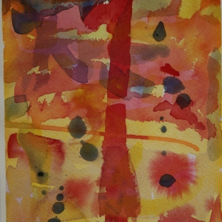 Watercolour symphony I