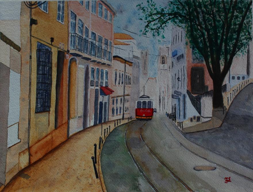 Street view Lisbon.